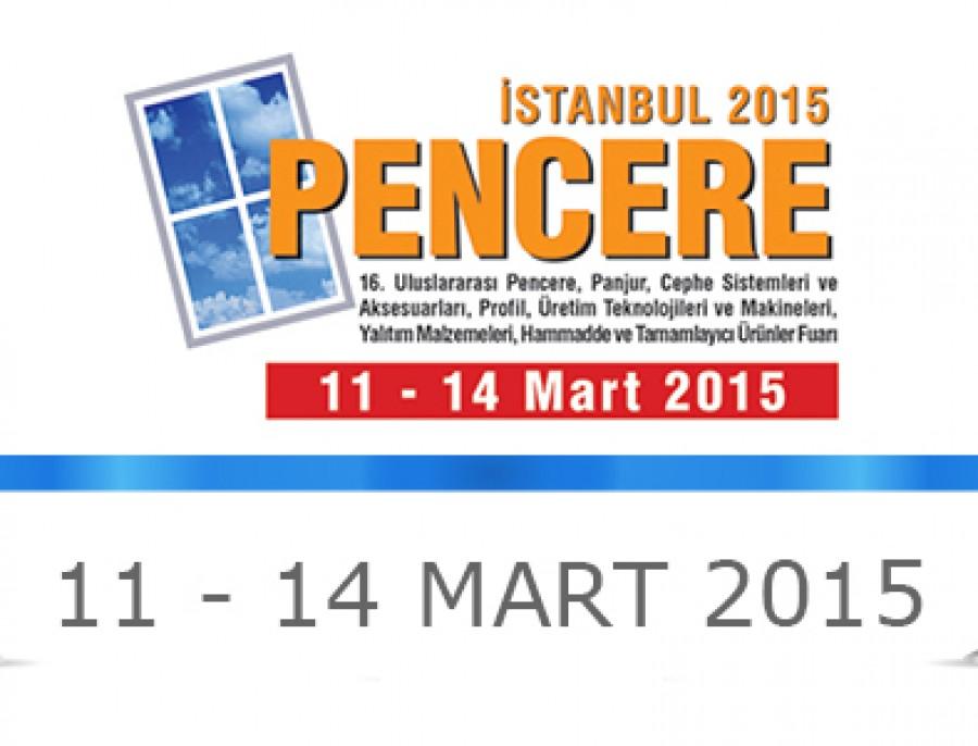 PVC PENCERE FUARI 2015
