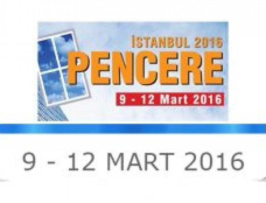 İSTANBUL PVC PENCERE FUARI 2016