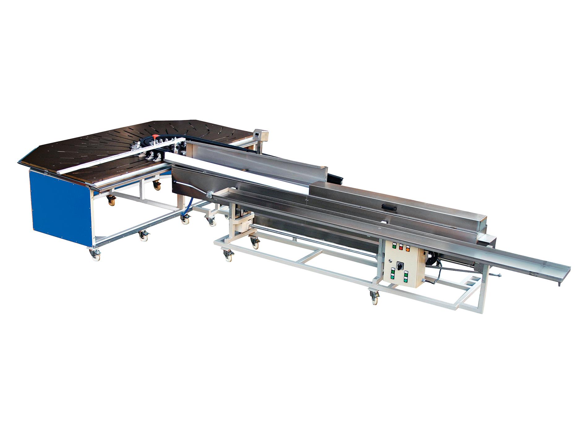 TWIST-3000 PVC Profil Kemer Bükme Makinesi