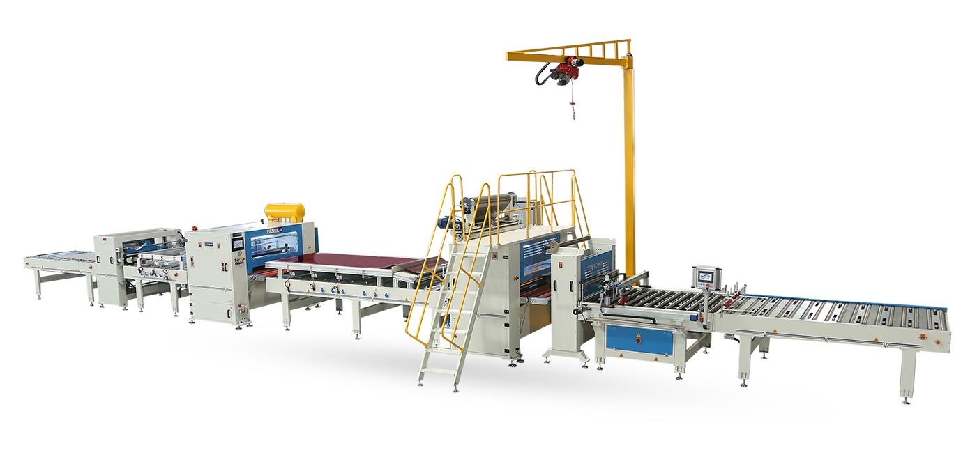 VFL-1400-RL-Reverse Merdaneli Yarı Otomatik Flat Laminasyon Hattı Makinaları