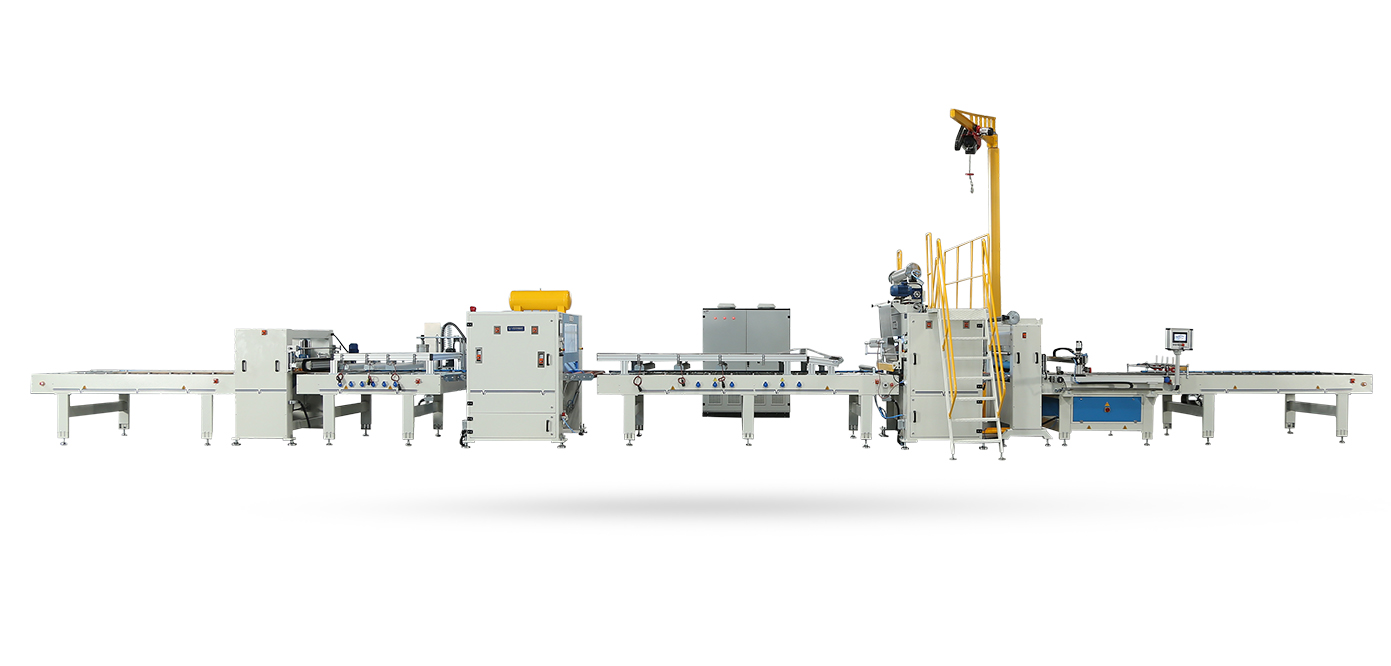 VFL-1400-RL-Reverse Merdaneli Yarı Otomatik Flat Laminasyon Hattı Makineleri