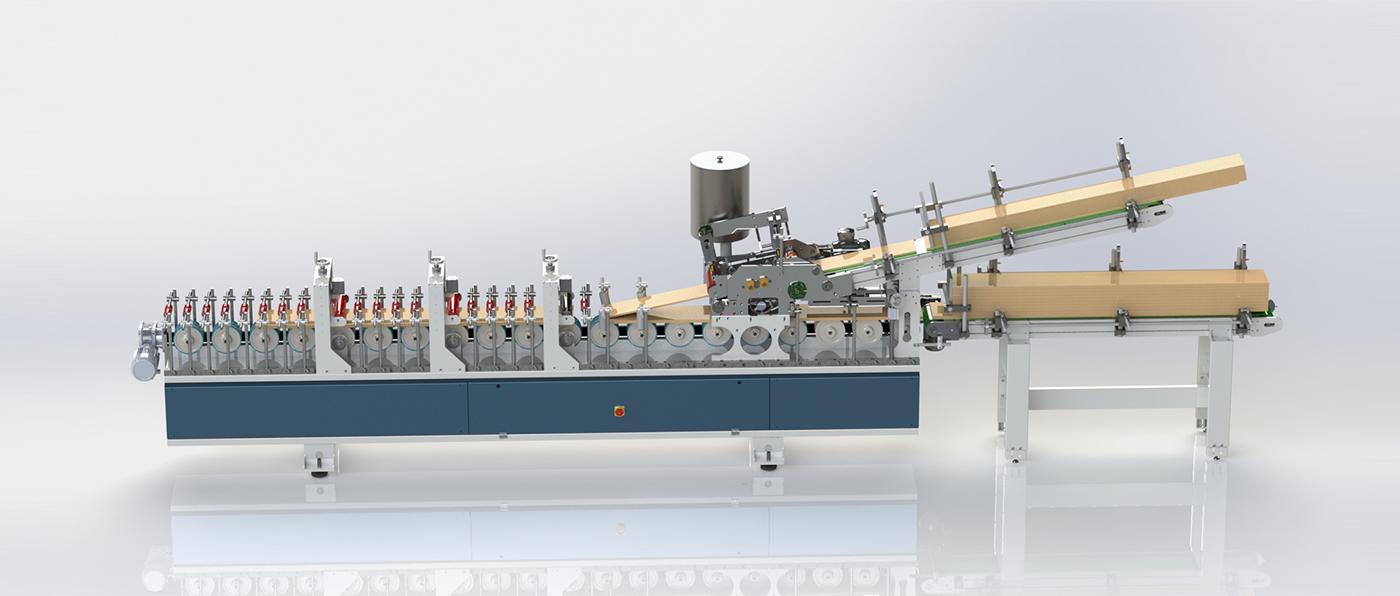 VFP 350 L5-AP - Otomatik Kasa Press Ve Modüler Çıta Yapıştırma Makinesi