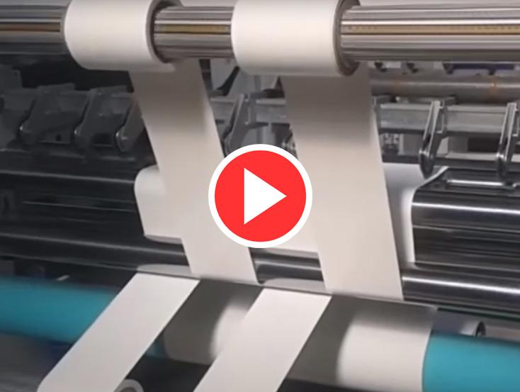 Folyo Dilimleme Makinesi Videoları