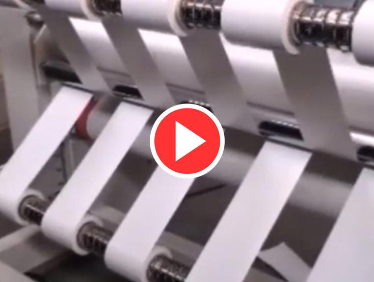 PVC Kağıt Dilimleme Makinesi